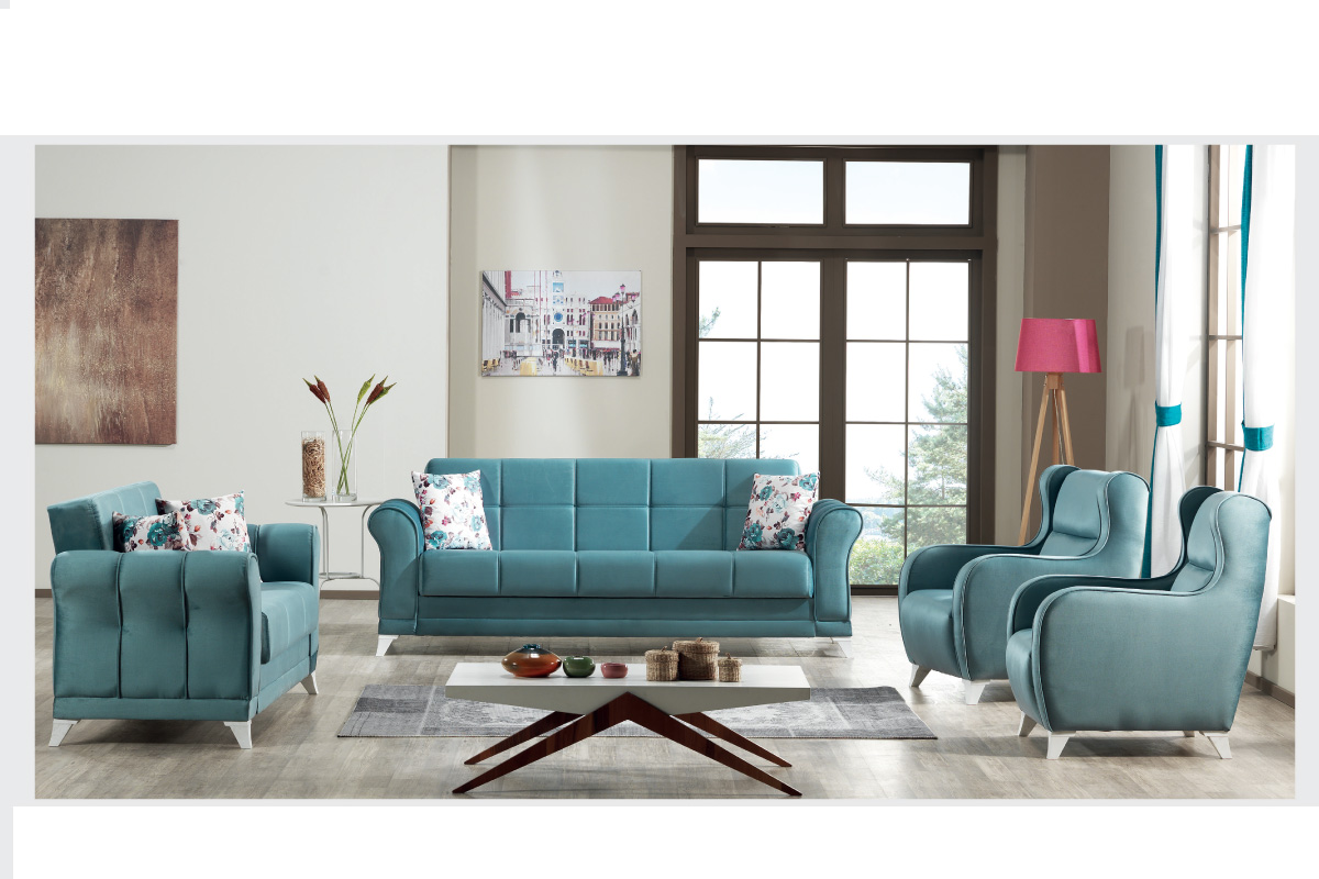 Milano Sofa Set